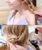 Wavy Hair Tutorial Step 4: Add Braids