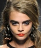 Cara Delevingne's Ultra-Dramatic Look