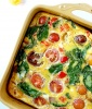 Dairy-Free Frittata with Heirloom Tomatoes