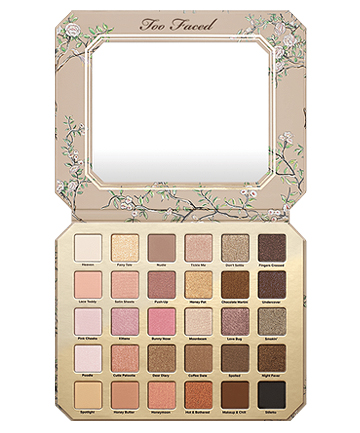 Eyes: Too Faced Natural Love Eye Shadow Collection, $59