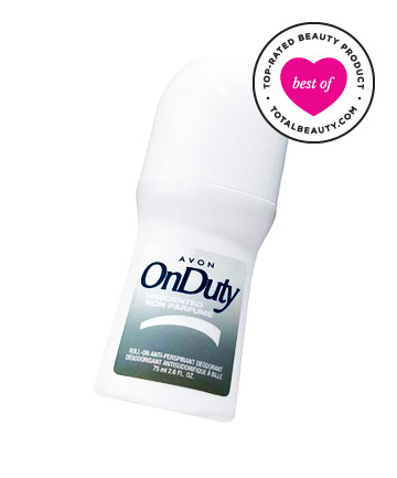 Best Deodorant No. 7: Avon On Duty Roll-On Anti-Perspirant Deodorant, $1.99