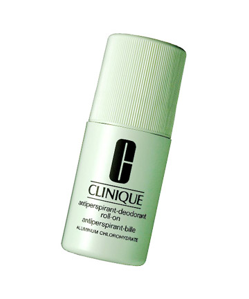 Worst Deodorant No. 4: Clinique Antiperspirant Deodorant Roll-On, $13