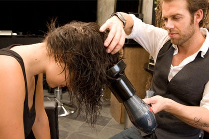 Blow Dry Hair How To Get Tousled Wavy Hair For Every