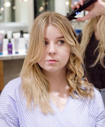 Wavy Hair Tutorial Step 6: Just Keep Curling
