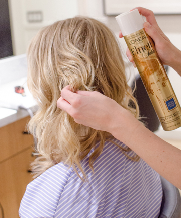 Wavy Hair Tutorial Step 10: The Finishing Touches