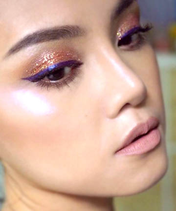 Holographic Highlighter, 17 Ethereal Makeup Looks That ...