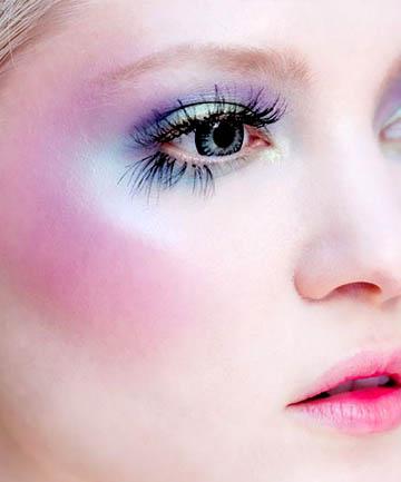Rainbow Pastel Eyes and Cheeks