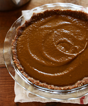 Vegan No-Bake Pumpkin Pie