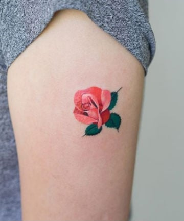 19 Rose Tattoos That Are Totally Unique
