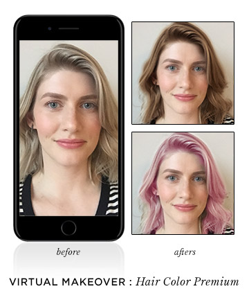 Hair Color Premium (Modiface), These Are the Virtual Makeover Tools ...