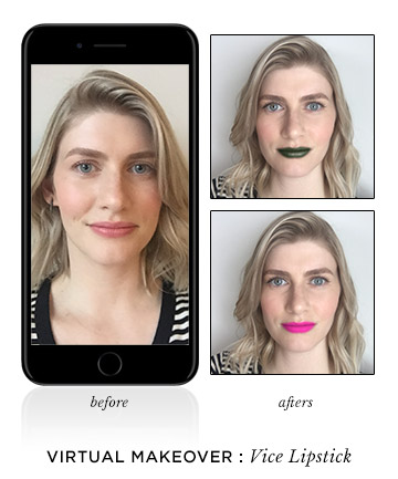Vice Lipstick (Urban Decay), These Are the Virtual Makeover Tools ...