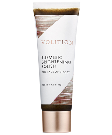 Volition Turmeric Brightening Polish, $38