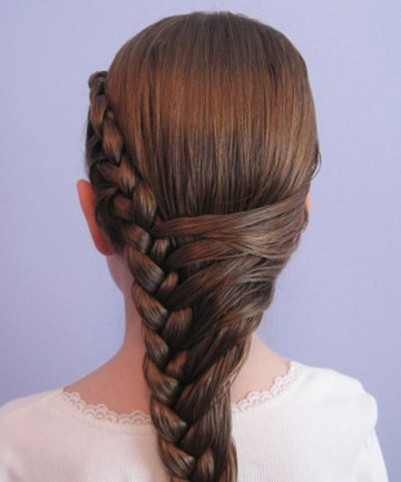 Wedding-Friendly French Braid Style