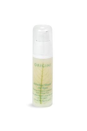 No. 19: Origins a Perfect World for Eyes Firming Moisture Treatment with White Tea, $30