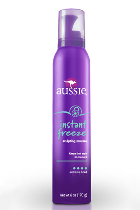 No. 3: Aussie Instant Freeze Sculpting Mousse, $3.99