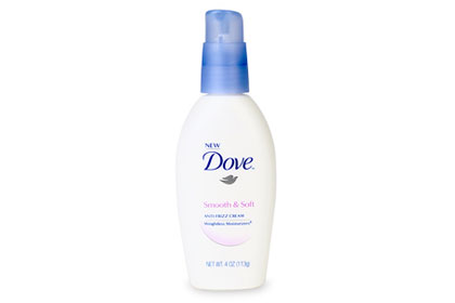 No. 5: Dove Smooth & Soft Anti-Frizz Cream, $7.99