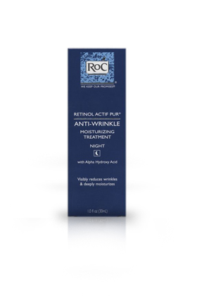 No. 5: RoC Retinol Actif Pur Anti-Wrinkle Moisturizing Treatment, $23.35