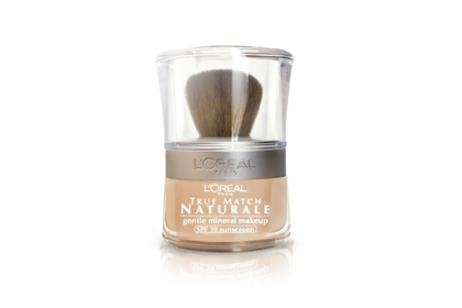 No. 1: L'Oreal Paris Bare Naturale Gentle Mineral Foundation, $15.25