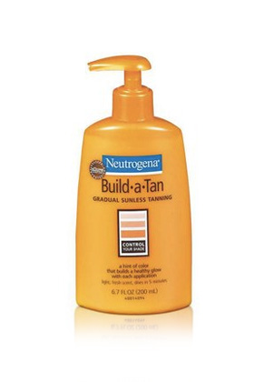 No. 2: Neutrogena Build-a-Tan Gradual Sunless Tanning Lotion, $8.97