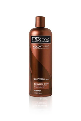 No. 10: TRESemme ColorThrive Brunette Shampoo, $5.99