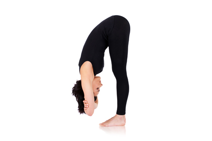 standing forward bend uttanasana 7 yoga poses that can