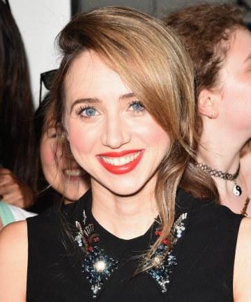 Zoe Kazan's Poppy Lip