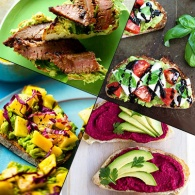 13 Healthy Ways to Up Your Avocado Toast Game