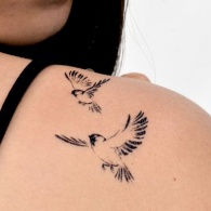21 Bird Tattoos That'll Make You Want to Take Flight