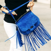 11 Chic Ways to Accessorize With Fringe