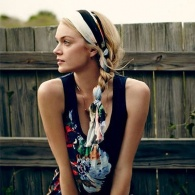 7 Cool-Girl Ways to Wear Hair Scarves