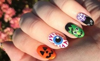 Your No-Halloween-Costume Solution: Nail Art