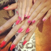 Beyonce and Blue Get Matching Manis