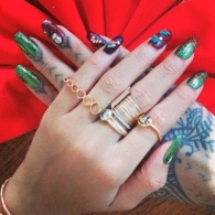 Weekend Recap: RiRi's Christmas Mani, MAC's Next Collection, and More