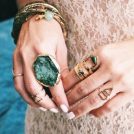 8 Pieces of Stone Jewelry to Make Your Fall Wardrobe Shine