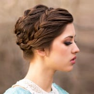 11 Prettiest Braided Updos to Try Now