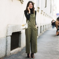 10 Grown-Up Ways to Style Overalls