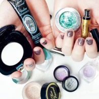 We Made the Impossible Happen: 7 (Work-Appropriate) Days of Glitter Makeup