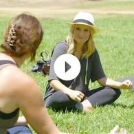 Watch Kristen Bell's Natural Living Tips Video