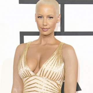 Missing From the Grammy Awards: Amber Rose's Tattoos