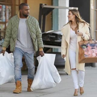 Kanye West Gave Kim Kardashian a Bizarre Birkin for Christmas