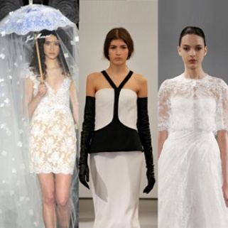 How to Rock Outrageous Accessories from Bridal Fashion Week