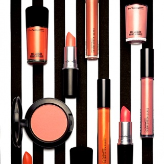 MAC's New Collection Makes Orange Surprisingly Wearable