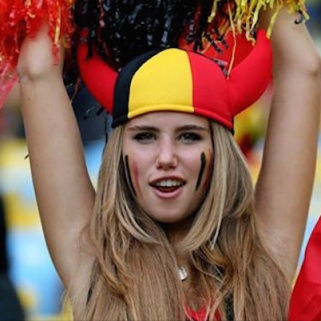 How a Photogenic World Cup Fan Became the New Face of L'Oréal