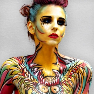 The Picassos of Body Paint