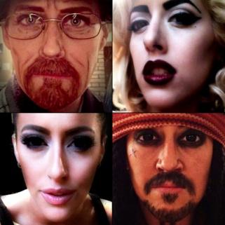 Unbelievable: Makeup Artist Carly Paige Morphs Into World's Most Famous Faces