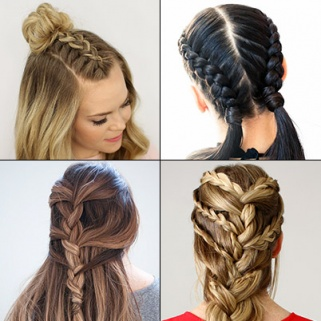 French Braid Hairstyles How To Page 2