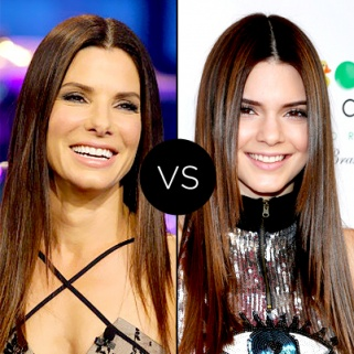Straight Up: Sandra Bullock vs. Kendall Jenner
