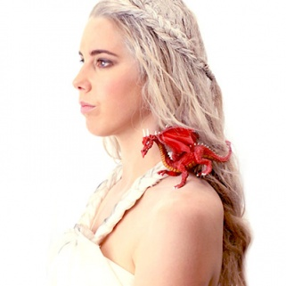 A 'Game of Thrones' Inspired Halloween Makeover
