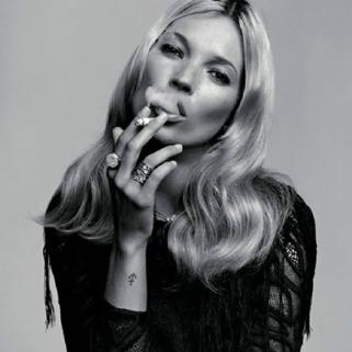 Kate Moss Has Mandatory Smoke Breaks