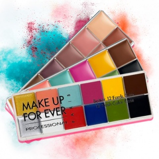 The Make Up For Ever Flash Palette Will Give You the Rainbow Look of Your Dreams